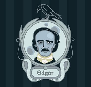 Edgar Allan Poe illustration