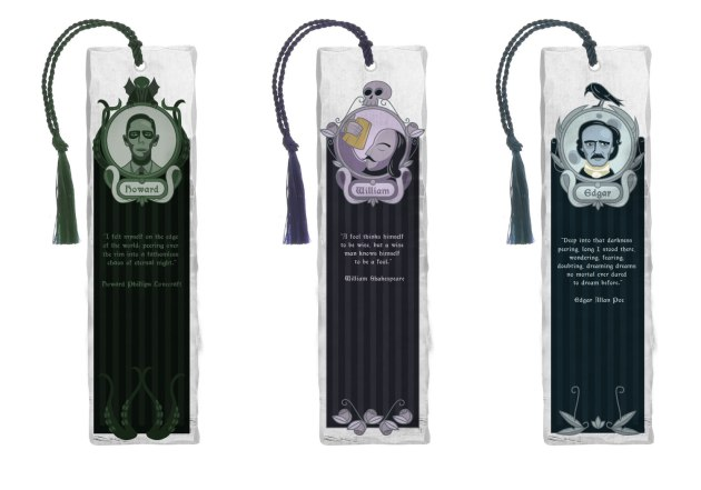 Authors bookmarks