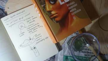 book and first sketches