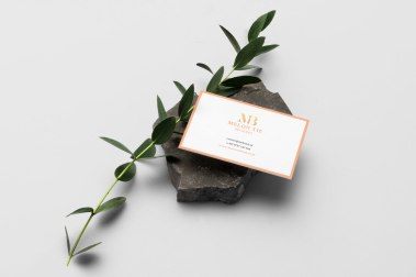 Melot Tie Brokers business card